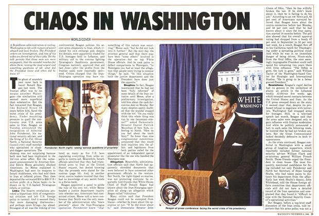 Article Preview: CHAOS IN WASHINGTON, December 1986 | Maclean's