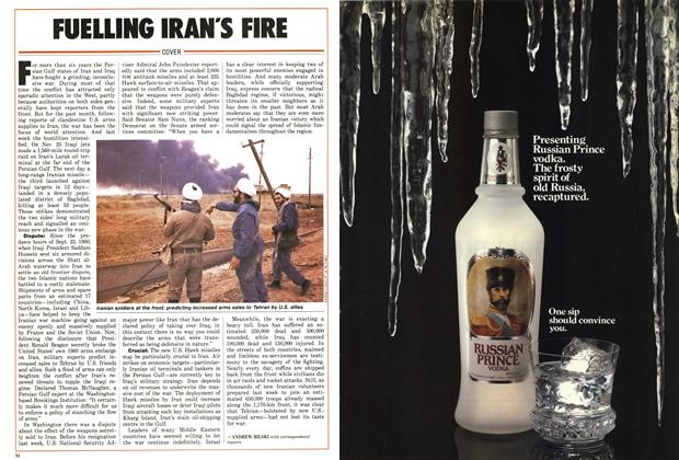 Article Preview: FUELLING IRAN'S FIRE, December 1986 | Maclean's