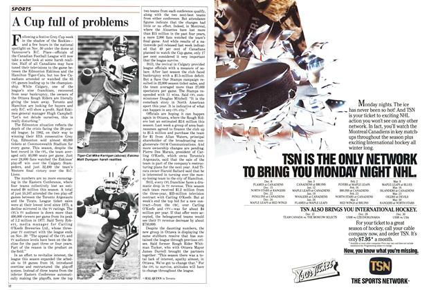 Article Preview: A Cup full of problems, December 1986 | Maclean's