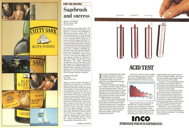 Article Preview: Sagebrush and success, December 1986 | Maclean's