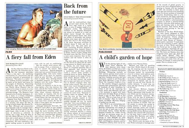 Article Preview: A fiery fall from Eden, December 1986 | Maclean's