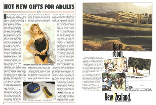 Article Preview: HOT NEW GIFTS FOR ADULTS, December 1986 | Maclean's