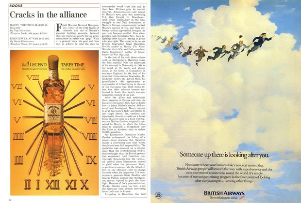 Article Preview: Cracks in the alliance, December 1986   Maclean's