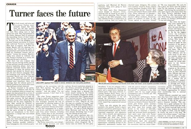 Article Preview: Turner faces the future, December 1986 | Maclean's
