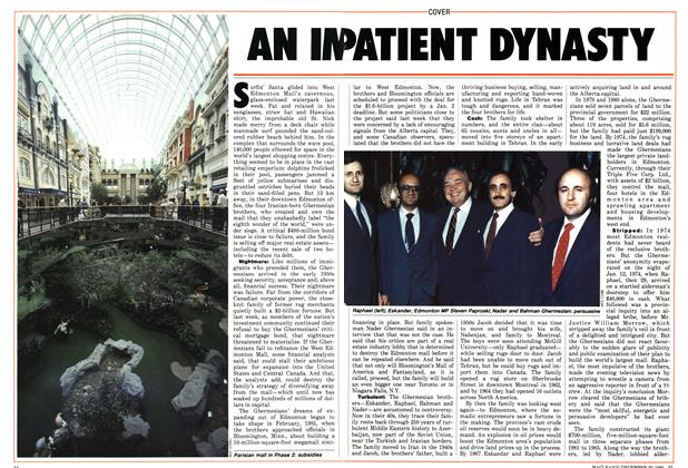 Article Preview: AN IMPATIENT DYNASTY, December 1986 | Maclean's