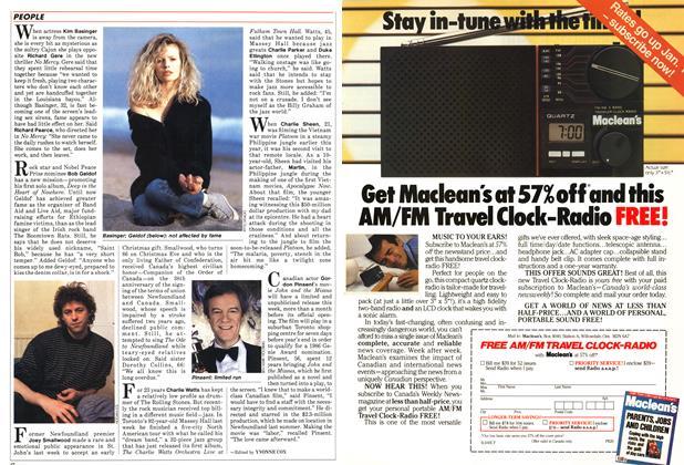 Article Preview: PEOPLE, December 1986 | Maclean's