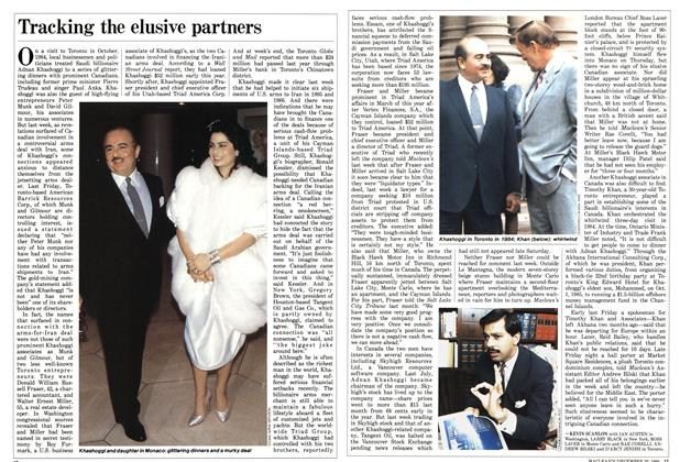 Article Preview: Tracking the elusive partners, December 1986 | Maclean's