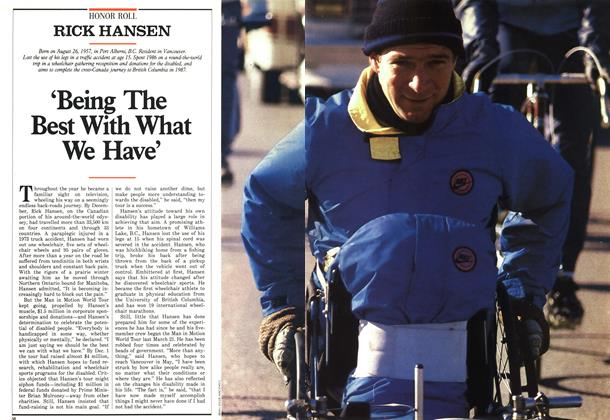 Article Preview: 'Being The Best With What We Have', December 1986 | Maclean's