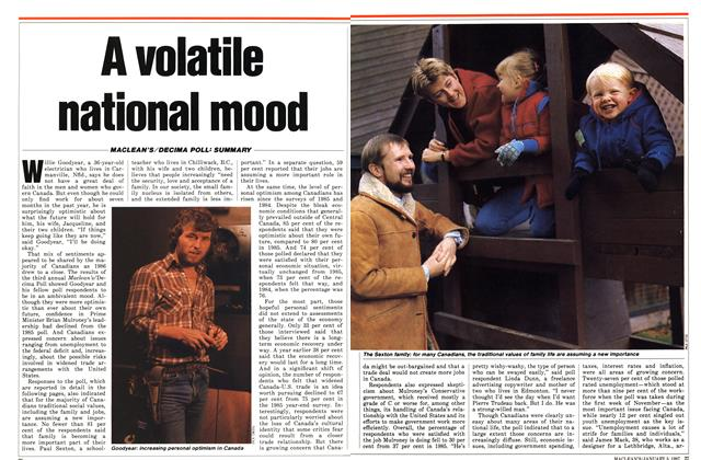 Article Preview: A volatile national mood, January 1987 | Maclean's