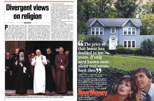 Article Preview: Divergent views on religion, January 1987 | Maclean's