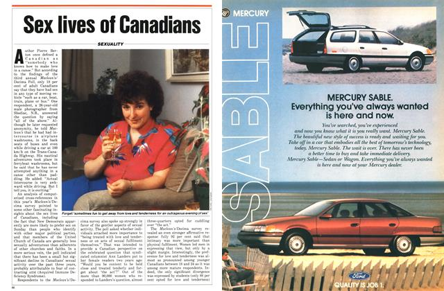 Article Preview: Sex lives of Canadians, January 1987 | Maclean's