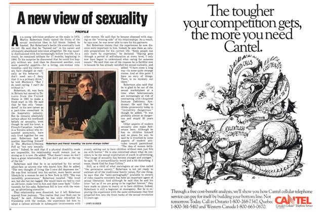 Article Preview: A new view of sexuality, January 1987 | Maclean's