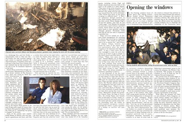 Article Preview: Opening the windows, January 1987 | Maclean's