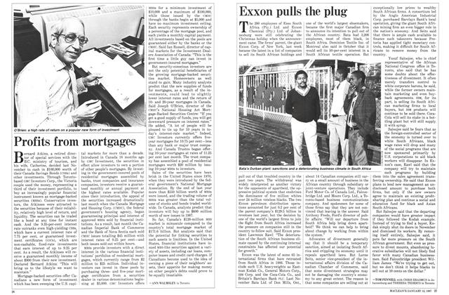 Article Preview: Exxon pulls the plug, January 1987 | Maclean's