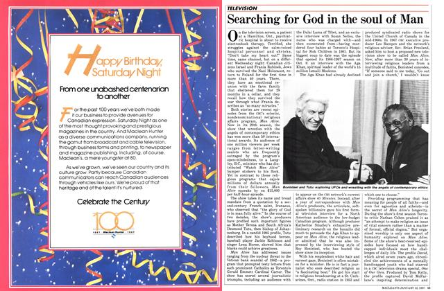 Article Preview: Searching for God in the soul of Man, January 1987 | Maclean's
