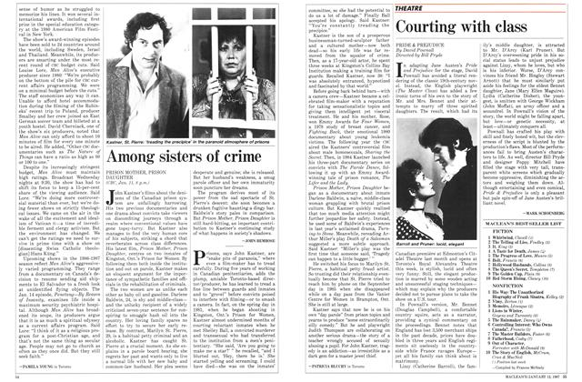 Article Preview: Among sisters of crime, January 1987 | Maclean's