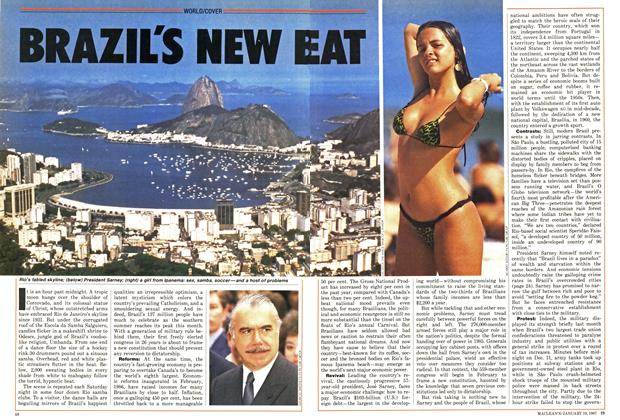 Article Preview: BRAZIL'S NEW BEAT, January 1987 | Maclean's