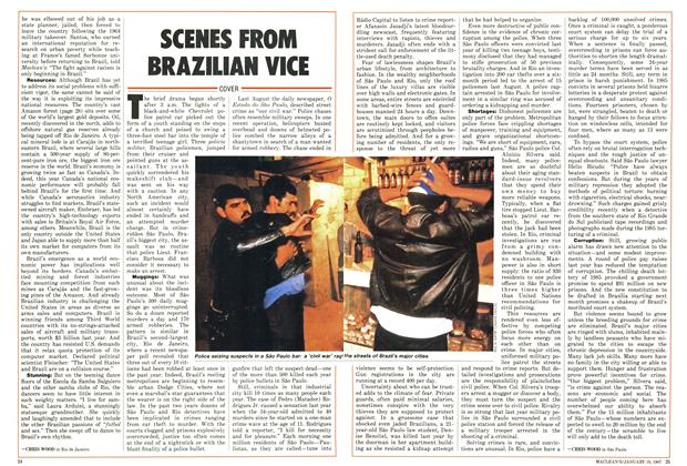 Article Preview: SCENES FROM BRAZILIAN VICE, January 1987 | Maclean's