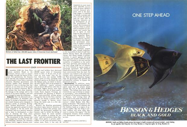 Article Preview: THE LAST FRONTIER, January 1987 | Maclean's