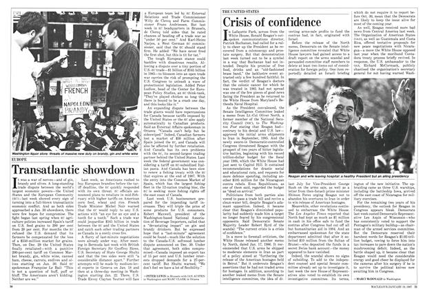 Article Preview: Crisis of confidence, January 1987 | Maclean's