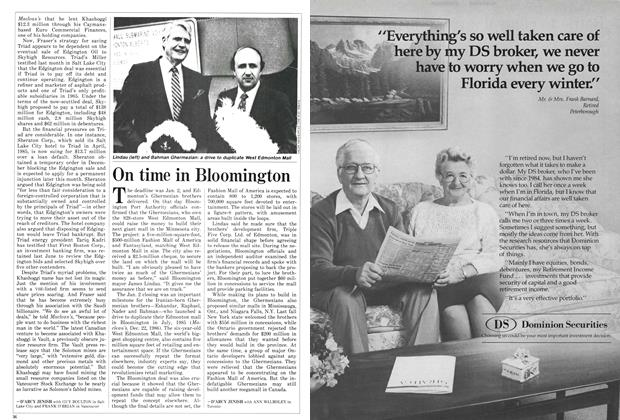 Article Preview: On time in Bloomington, January 1987 | Maclean's