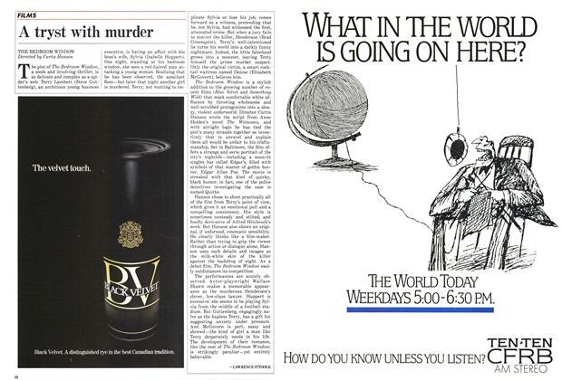 Article Preview: A tryst with murder, January 1987 | Maclean's