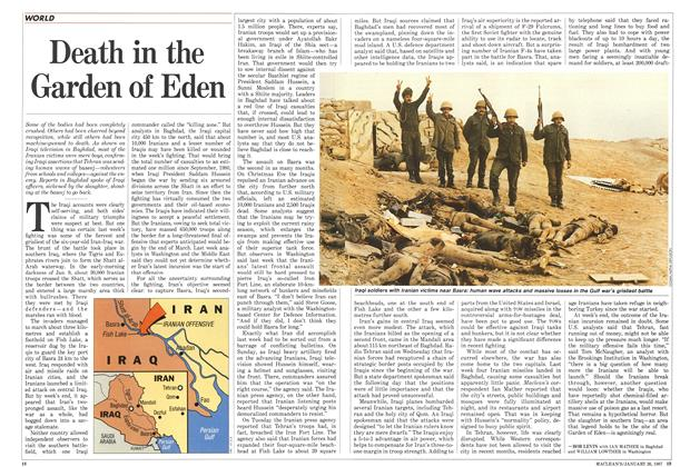Article Preview: Death in the Garden of Eden, January 1987 | Maclean's