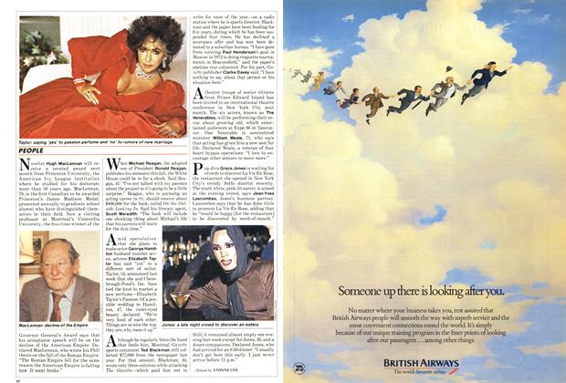 Article Preview: PEOPLE, January 1987 | Maclean's