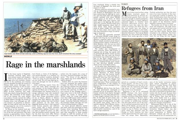Article Preview: Refugees from Iran, February 1987 | Maclean's