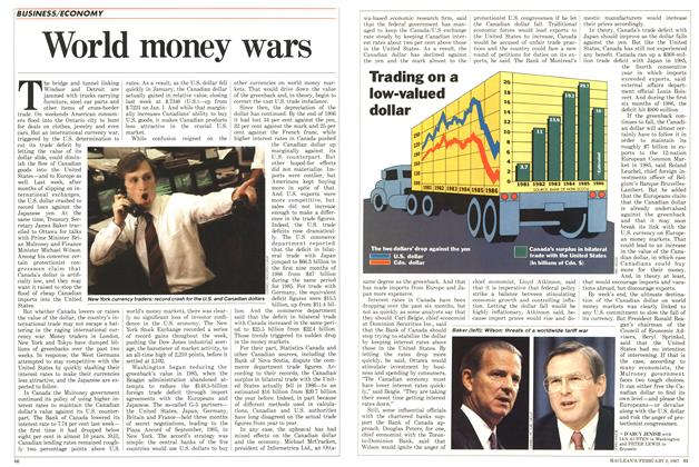 Article Preview: World money wars, February 1987 | Maclean's
