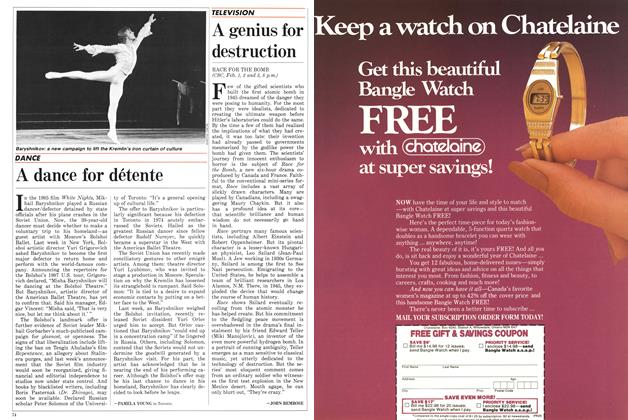 Article Preview: A dance for détente, February 1987 | Maclean's