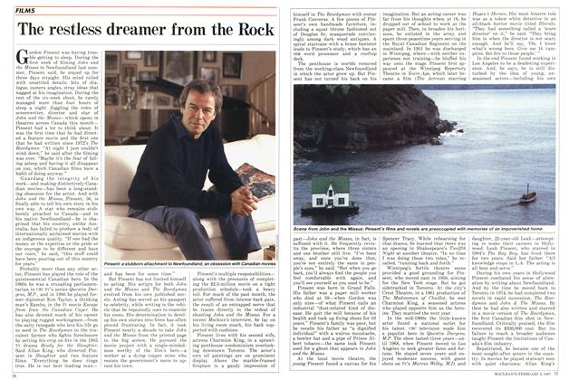 Article Preview: The restless dreamer from the Rock, February 1987 | Maclean's