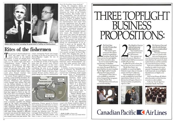 Article Preview: Rites of the fishermen, FEBRUARY 9,1987 1987 | Maclean's