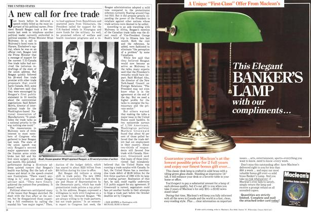 Article Preview: A new call for free trade, FEBRUARY 9,1987 1987 | Maclean's