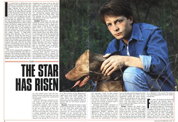 Article Preview: THE STAR HAS RISEN, FEBRUARY 9,1987 1987 | Maclean's