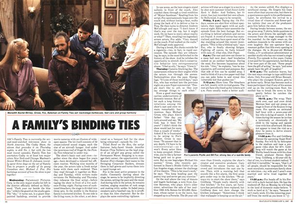 Article Preview: A FAMILY'S BINDING TIES, FEBRUARY 9,1987 1987 | Maclean's