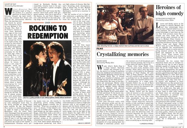 Article Preview: Heroines of high comedy, FEBRUARY 9,1987 1987 | Maclean's