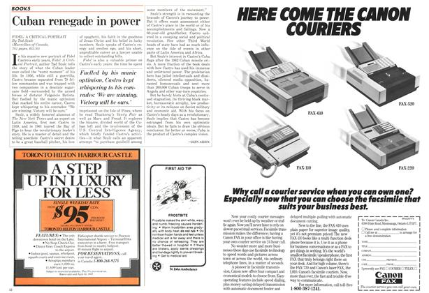 Article Preview: Cuban renegade in power, FEBRUARY 9,1987 1987 | Maclean's