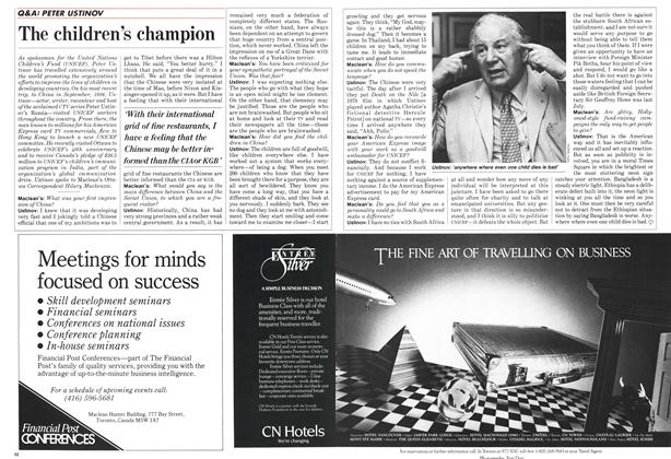 Article Preview: The children's champion, FEBRUARY 9,1987 1987 | Maclean's