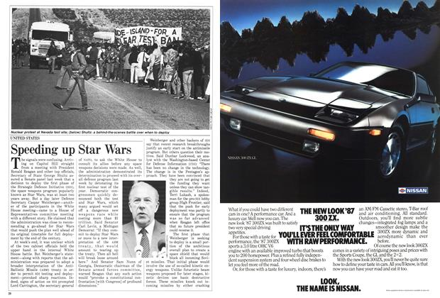 Article Preview: Speeding up Star Wars, February 1987 | Maclean's