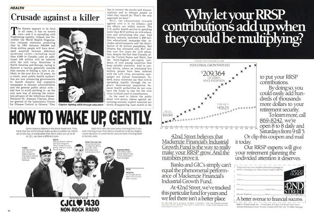 Article Preview: Crusade against a killer, February 1987 | Maclean's
