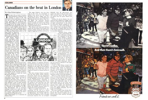 Article Preview: Canadians on the beat in London, February 1987 | Maclean's