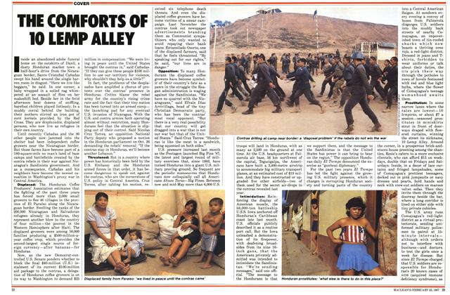 Article Preview: THE COMFORTS OF 10 LEMP ALLEY, February 1987 | Maclean's