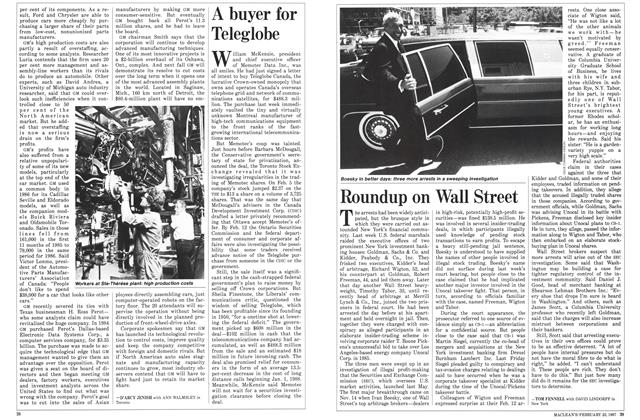 Article Preview: Roundup on Wall Street, February 1987 | Maclean's