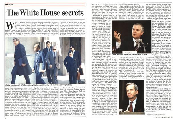 Article Preview: The White House secrets, March 1987 | Maclean's
