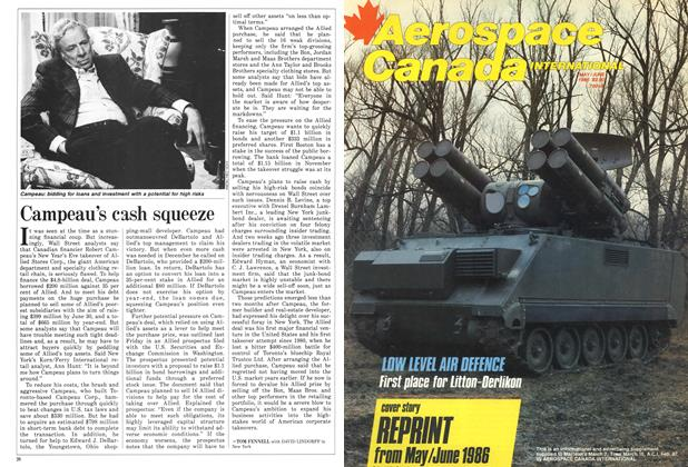 Article Preview: Campeau's cash squeeze, March 1987 | Maclean's