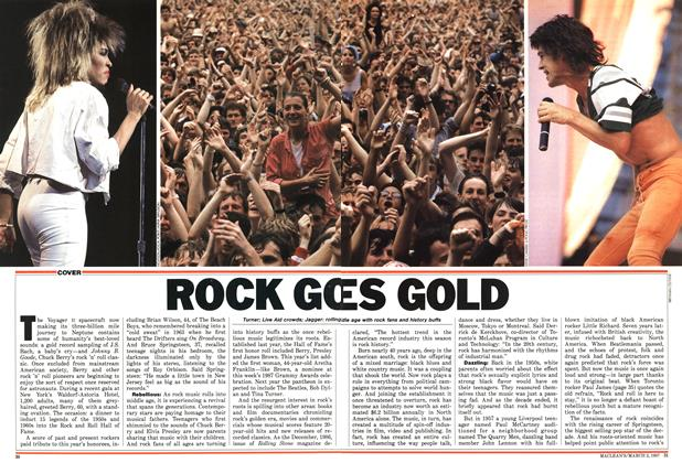 Article Preview: ROCK GO ES GOLD, March 1987 | Maclean's