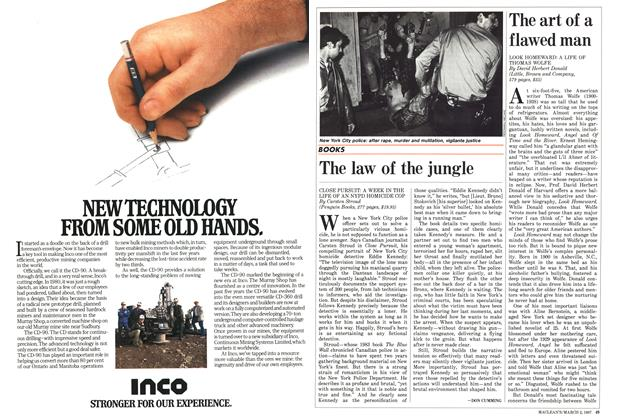 Article Preview: The law of the jungle, March 1987 | Maclean's