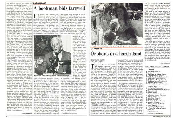 Article Preview: A bookman bids farewell, March 1987 | Maclean's
