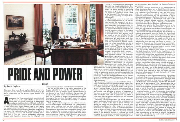 Article Preview: PRIDE AND POWER, March 1987 | Maclean's